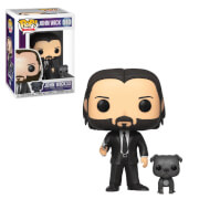 John Wick with Dog Pop! Vinyl Figure