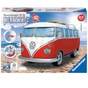Image of Ravensburger VW T1 Camper Van 3D Jigsaw Puzzle (162 Pieces)
