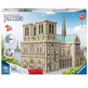Image of Ravensburger Notre Dame 3D Jigsaw Puzzle (324 Pieces)