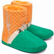 DC Comics Aquaman Uniform Slippers