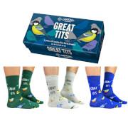 Cockney Spaniel Sock Gift Box - Great Tits