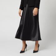 HUGO Women's Racela Satin Skirt - Black - UK 12