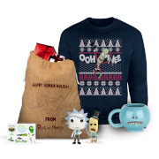 Rick and Morty Officially Licensed MEGA Christmas Gift Set