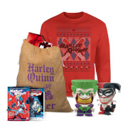 DC Comics Joker and Harley Officially Licensed MEGA Christmas Gift Set