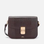 A.P.C. Women's Grace Small Bag - Dark Brown