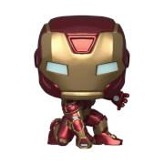 Figurine Pop! Iron Man (Tenue Stark Tech) - Marvel's Avengers (jeu vidéo)