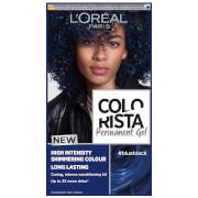 Купить L'Oréal Paris Colorista Permanent Gel Hair Dye (Various Shades) - Blue Black