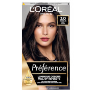 L'Oréal Paris Préférence Infinia Hair Dye (Various Shades) - 3.0 Brasilia Dark Brown