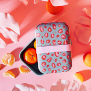 Sass & Belle Leopard Love Bamboo Lunch Box