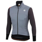 Sportful Fiandre Strato Wind Jacket - S - Cement/Anthracite