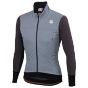 Sportful Fiandre Strato Wind Jacket - M - Cement/Anthracite