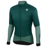 sportful bodyfit pro jacket - l - sea moss/dry green