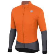 Sportful BodyFit Pro Jacket - M - Orange SDR/Anthracite