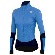 sportful women's bodyfit pro jacket - m - parrot blue/blue