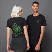 T-shirt Harry Potter The Dark Arts Morsmordre - Noir