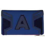 Loungefly Marvel Avengers: Endgame Captain America Hero Flap Wallet