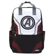 Loungefly Marvel Avengers End Game Suit Square Nylon Backpack