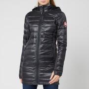 canada goose women's hybridge lite jacket - graphite/black - xs