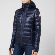 canada goose women's hybridge lite hoody - admiral blue/black - xs