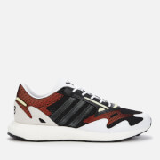 Y-3 Men's Rhisu Run Trainers - Black/White/Yeltin - UK 8