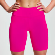 MP Power Women's Cycling Shorts - Super Pink