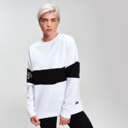 MP Women's Power Colour Block Sweatshirt - White