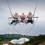 Hangloose at The Eden Project - Zip Wire, Giant Swing, Vertigo 360, Big Air and The Drop for Two