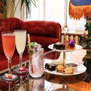Cream Cakes and Cocktails for Two at Mr Fogg's Gin Parlour, Covent Garden