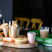 Indian Afternoon Tea with Prosecco for Two at Soho Wala