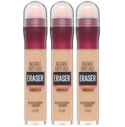 maybelline instant anti-age eraser eye concealer 3 pack exclusive