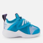 adidas Girls Fortarun X Frozen Trainers - Bold Aqua - UK 3 Kids - Salescache