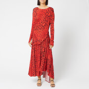 Preen By Thornton Bregazzi Women's Naima Dress - Red Serpent Skin - XS
