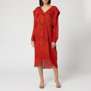 Preen By Thornton Bregazzi Women's Dotted Jacquard Eve Dress - Red Dragon Scale - XS