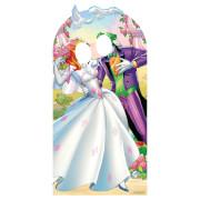 Joker Harley Quinn Wedding Life Size Stand-In