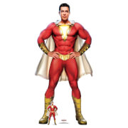 Shazam Cape Stylised (Zachary Levi) Life Size Cut-Out
