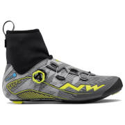 Northwave Flash Arctic GTX Winter Boots - Reflective/Yellow Fluo - EU 46