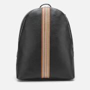 PS Paul Smith Men's Stripe Rucksack - Black