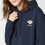 Harry Potter Ravenclaw Unisex Embroidered Hoodie - Navy