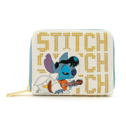 Loungefly Disney Lilo and Stitch Elvis Stitch Zip Around Wallet