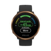 Polar Ignite GPS Sports Watch – M-L – Black/Copper