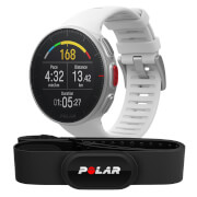 Polar Vantage V GPS Multisport Watch H10 HR Bundle – White