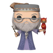 Figurine Pop! Dumbledore Avec Fumseck 10 Pouces (25cm) - Harry Potter