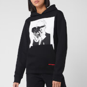 Karl Lagerfeld Women's Legend Hoody - Black - XS