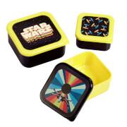 Funko Homeware Star Wars Classic Spaceships Plastic Storage Set