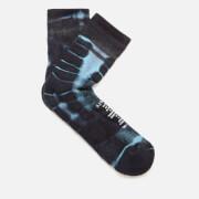 Satisfy Men's Merino Tube Socks - Indigo Tie Die - UK 9-11/EU 43-46