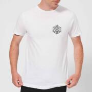Snow flake Men's T-Shirt - White