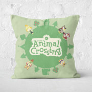 Animal Crossing Square Cushion