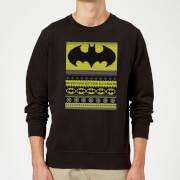 Batman Christmas Sweatshirt   Black   5XL   Black