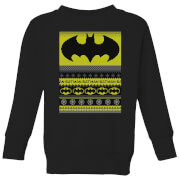 Batman Kids Christmas Sweatshirt - Black - 7-8 Years - Black