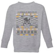 Batman I Do Not Smell Kids Christmas Sweatshirt   Grey   3 4 Years   Grey